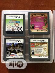 4x Nintendo DS Cartridges USA Version + Nintendo Game Case | Video Games for sale in Enugu State, Enugu