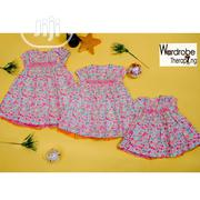 Nutmeg Flowered Dress | Children's Clothing for sale in Lagos State, Lagos Mainland
