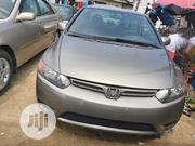 Honda Civic 2007 1.8 Coupe DX Automatic Gray | Cars for sale in Lagos State, Amuwo-Odofin