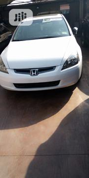 Honda Accord 2004 White | Cars for sale in Lagos State, Surulere