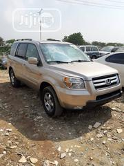 Honda Pilot 2006 LX 4x4 (3.5L 6cyl 5A) Gold | Cars for sale in Lagos State, Kosofe