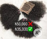 European Curly Weaves With Closure | Hair Beauty for sale in Lagos State, Lagos Mainland