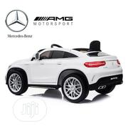 White Coupe Ride on Car Mercedes Benz GL 63 Toy | Toys for sale in Lagos State, Lagos Island