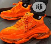 Balenciaga 19ss Triple S Trainer Clear Sole Orange Sneakers | Sports Equipment for sale in Rivers State, Port-Harcourt