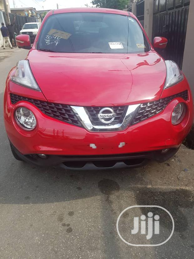 Archive: Nissan Juke 2015 Red