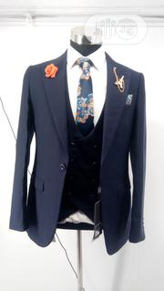 Men's Exclusive 3 Piece Suit: Jacket, Vest and Trouser | Clothing for sale in Lagos State, Kosofe