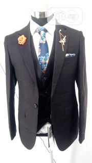 Men's Exclusive 3 Piece Suit: Jacket, Vest and Trouser   Clothing for sale in Lagos State, Kosofe