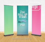 Make Your Professional Rollup Banners | Manufacturing Services for sale in Abuja (FCT) State, Garki 2