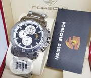 Porsche Chronograph Silver Chain Watch | Watches for sale in Lagos State, Lagos Island