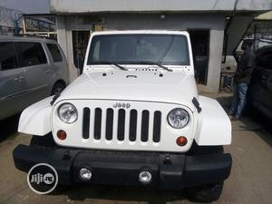 Jeep Wrangler 2013 White