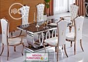 Maccedees Leg Marble Dinning Table by 6 | Furniture for sale in Lagos State, Lagos Mainland