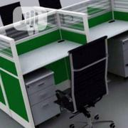 Glass Partition Office Workstation Table | Furniture for sale in Lagos State, Ifako-Ijaiye