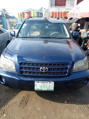 Toyota Highlander 2003 Blue | Cars for sale in Rivers State, Port-Harcourt