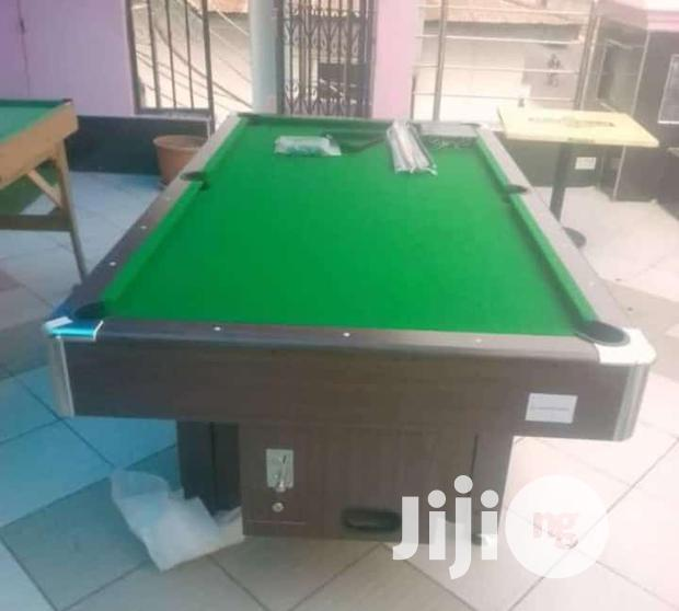 8ft Snooker Board With Coin