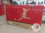 New Original LG 75 Inch Class 4K Smart Uhd TV W/Ai Wi-fi + Warranty | TV & DVD Equipment for sale in Lagos State, Ojo