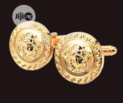 Golden Cufflinks With Gift Box | Arts & Crafts for sale in Oyo State, Egbeda
