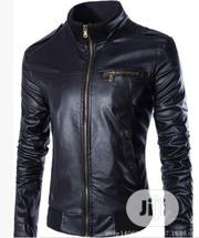 Men's Casual Faux Leather Jacket- For Stars | Clothing for sale in Oyo State, Ibadan