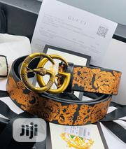 Gucci Leather Belt | Clothing Accessories for sale in Lagos State, Surulere