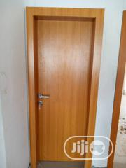 Solid Hdf Door With Frame N Sketons | Doors for sale in Lagos State, Mushin