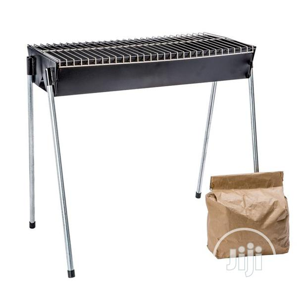 Steel Barbecue Grill +FREE CHARCOAL