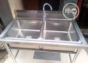 Stainless Kitchen Sink Double Bowl | Plumbing & Water Supply for sale in Lagos State, Ojo