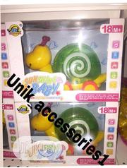 Little Bright Light Musical Snail Toy | Toys for sale in Plateau State, Bassa-Plateau