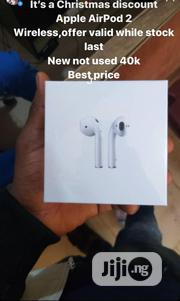 Airpods 2 Wireless Charging Brand New | Headphones for sale in Lagos State, Ikotun/Igando