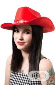 Beautiful Christmas Cowboy Hat - Fedora Sun Red Hat | Clothing Accessories for sale in Lagos State, Ikeja