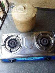 Two Burner Table Gas and 10kg Cylinder | Kitchen Appliances for sale in Delta State, Oshimili South