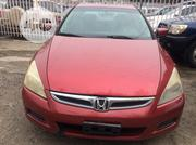 Honda Accord 2007 2.0 Comfort Automatic Red | Cars for sale in Lagos State, Ojodu