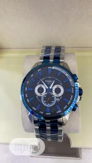 Tissot Chronograph Silver/Blue Chain Watch   Watches for sale in Lagos State, Lagos Island