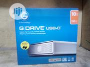 G-drive 10TB External Hard Drive USB Port C   Computer Hardware for sale in Lagos State, Ikeja