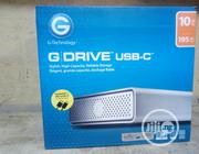 G-drive 10TB External Hard Drive USB Port C   Computer Hardware for sale in Lagos State, Lekki Phase 1