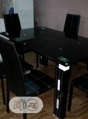 A Plain Turkey 6-Seater Glass Dining Table | Furniture for sale in Rivers State, Port-Harcourt
