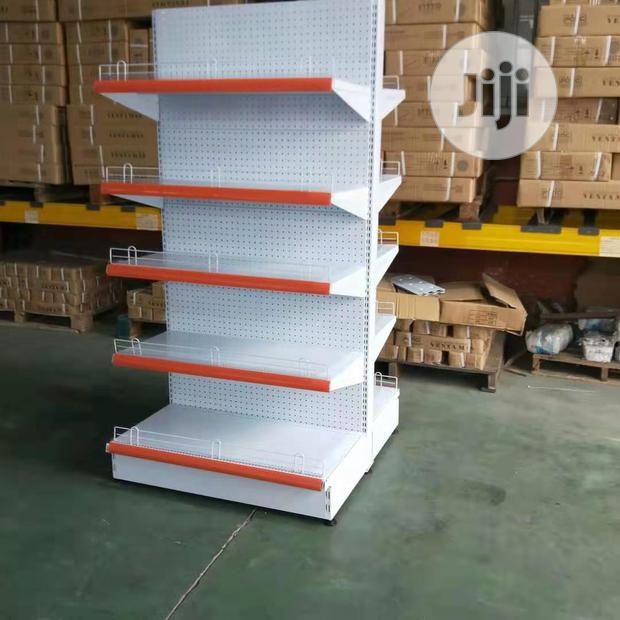 Christmas Bonanza Price for Double Sided Supermarke Shelve Display