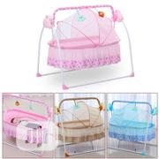 Rocking Baby Bed With Mosquito Net - Pink | Children's Furniture for sale in Lagos State, Alimosho