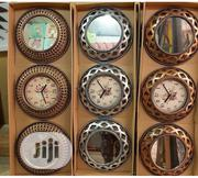 Wall Clock With Mirror | Home Accessories for sale in Lagos State, Ikeja
