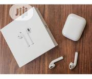 Exact Replica Of Apple Airpod 2 With Wireless Charging Box | Headphones for sale in Lagos State, Ikeja