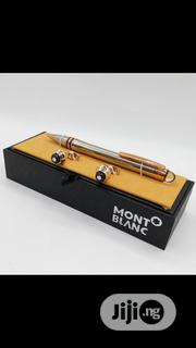 Montblanc Pen And Cufflinks Buttons | Stationery for sale in Lagos State, Surulere