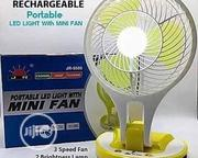 USB Rechargeable Table Fan With Led Light | Home Appliances for sale in Lagos State, Amuwo-Odofin