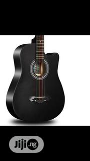 Acoustic Box Guitar With Strap And Bag | Musical Instruments & Gear for sale in Oyo State, Ayete