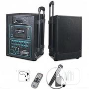 Speaker With DVD Player,USB,Cassette Player + Handheld,Wireless Mics | Audio & Music Equipment for sale in Delta State, Ethiope East