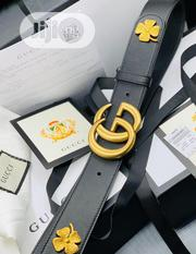 Original Gucci Italian Leather Belt For Men's | Clothing Accessories for sale in Lagos State, Lagos Island