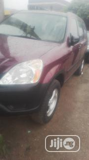 Honda CR-V 2.0i ES Automatic 2004 Red   Cars for sale in Lagos State, Ikeja