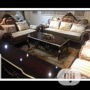 Brand New Complete Set Of Royal Sofa With Set Of Royal Center Table. | Furniture for sale in Lagos State, Ojo