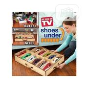 Shoe Box UNDER BED SHOE RACK For Footwears | Furniture for sale in Lagos State, Ikeja