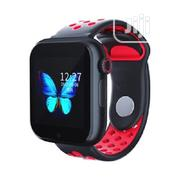 Z6s Smart Watch And Heart Rate Monitor - Black & Red | Smart Watches & Trackers for sale in Lagos State, Ikeja