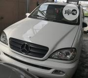 Mercedes-Benz M Class 2005 White | Cars for sale in Lagos State, Surulere