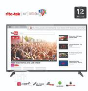 Rite Tek 40-inch Android Smart FHD (Smart Air Remote & Voice Control) | TV & DVD Equipment for sale in Abuja (FCT) State, Asokoro