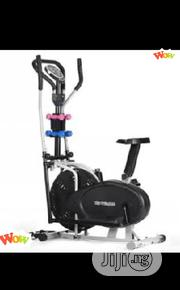 High Quality Orbitrek Bike With Dumbbells Eliptical Bike | Sports Equipment for sale in Akwa Ibom State, Uyo